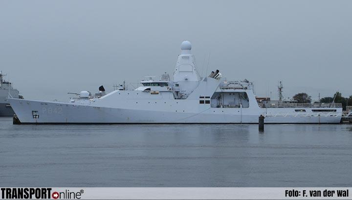 Marineschip Zr.Ms. Groningen onderschept wederom drugstransport