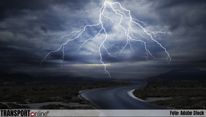 Code geel vanwege kans op onweer in noorden en oosten