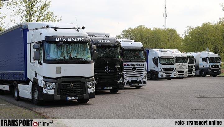 TLN, evofenedex, Havenbedrijf Rotterdam en diverse provincies willen 45 uur rust weer terug in de cabine
