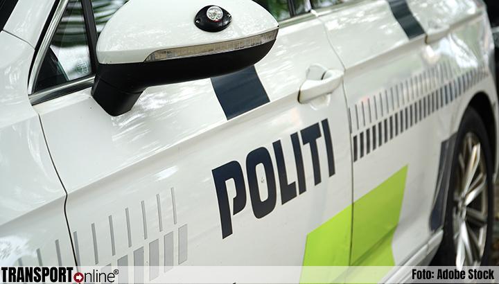 Oekraïense chauffeur moet Poolse vrachtwagen laten staan in Denemarken vanwege niet betalen boete