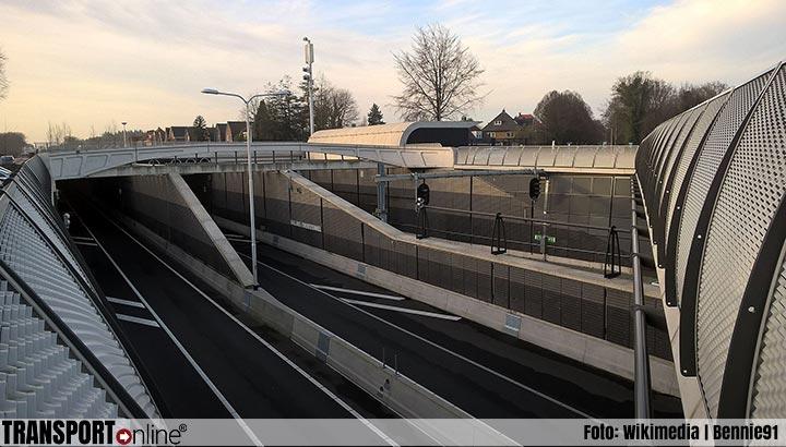 Salland-Twentetunnel (N35) 14 en 15 juni dicht vanwege onderhoud