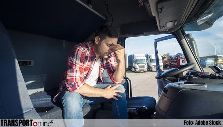 Vermoeidheid bij vrachtwagenchauffeurs: resultaten onderzoek alarmerend
