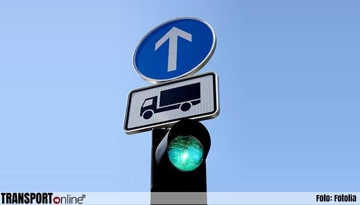 Slimme verkeerslichten verbeteren doorstroming vrachtverkeer op N279