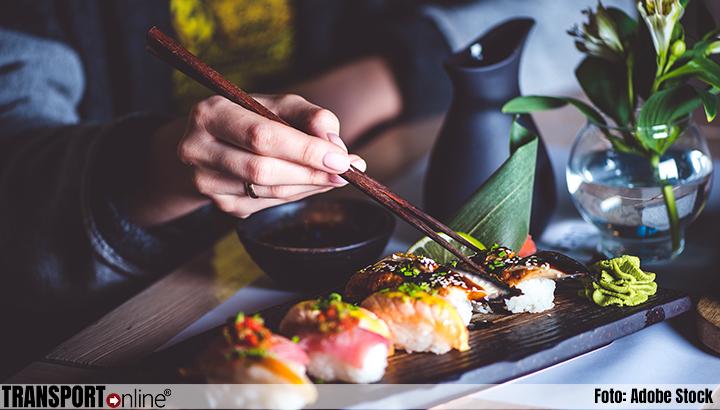 Warm onthaal voor koude sushi in Nederland