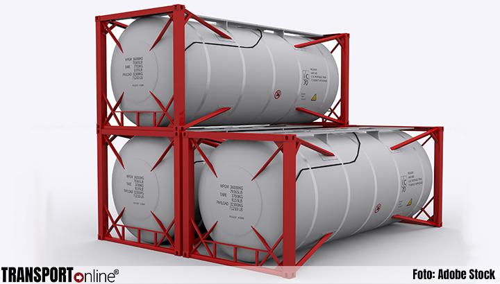 Havenpolitie waarschuwt voor diefstal tankcontainers