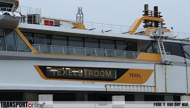 Lange wachttijden voor boot naar Texel door storing