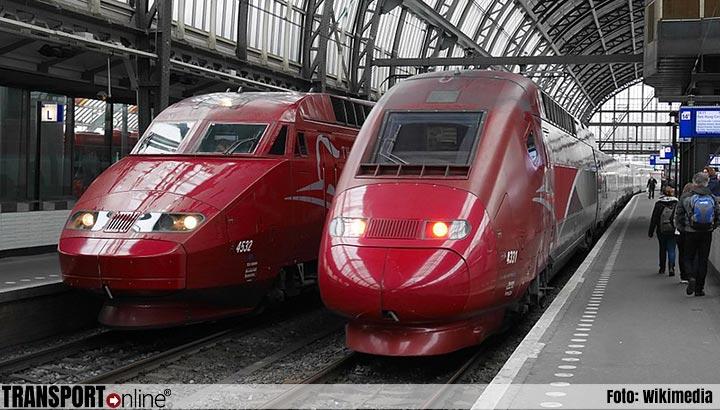 Internationale treinen mogelijk plat door acties personeel