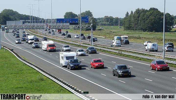 Drukte op de weg neemt af, maar niet rond Utrecht