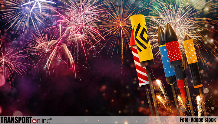 ILT waarschuwt: 'vervoer vuurwerk is verboden'