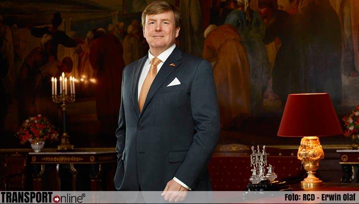 Koning opent nieuw gebouw Polaris van Luchtverkeersleiding Nederland