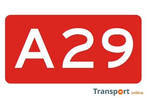Wegwerkzaamheden A29 van 27 - 29 oktober