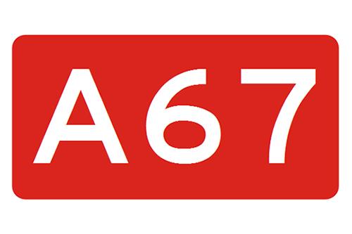 Opnieuw ongeval met vrachtwagen en auto op A67