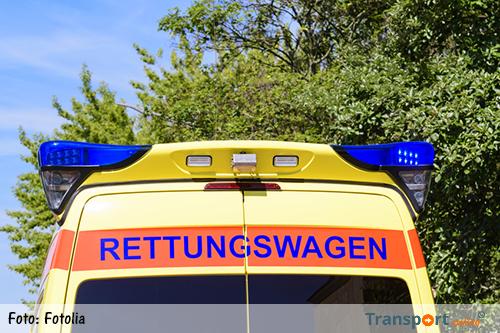 Aanrijding met meerdere vrachtwagens op Duitse A2 [+fotoserie]