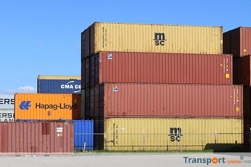 Verstekelingen kropen in België in container