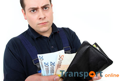 Transportbedrijven vergeten loonsverhoging te betalen