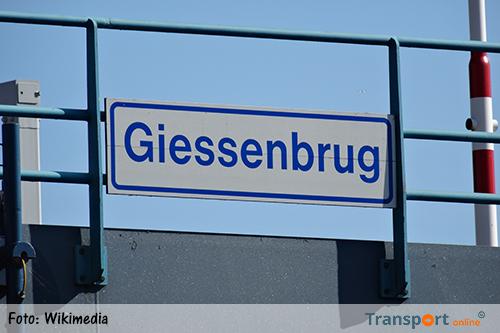Giessenbrug (A20) tweede helft oktober weer in bedrijf