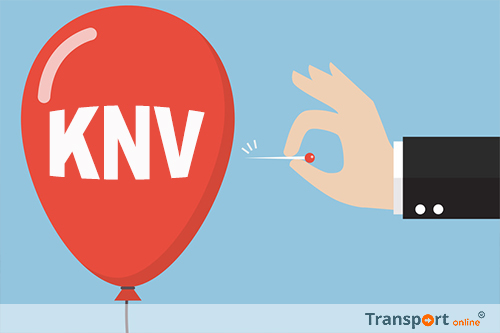 250 chauffeurs houden prikactie voor behoud van arbeidsvoorwaarden KNV-cao