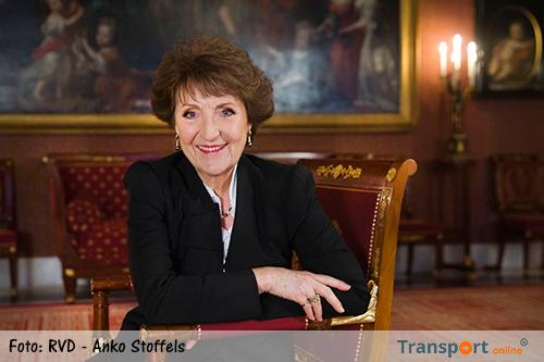 Prinses Margriet bij viering 75 jaar Nederlandse Vereniging van Kapiteins ter Koopvaardij