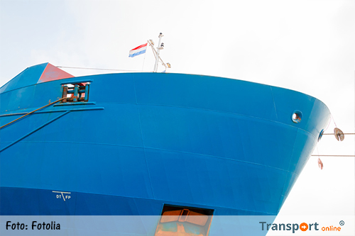 Aantal handelsschepen onder Nederlandse vlag neemt af