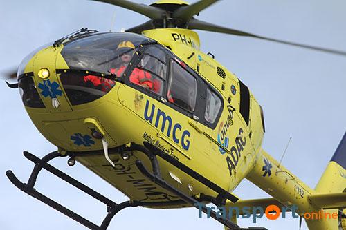 A7 bij Zuidbroek dicht na ernstig ongeval