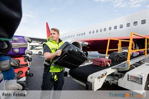 FNV: personeel KLM ziek door te zware bagage