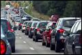 Drukte op Europese wegen