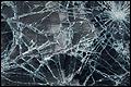 Glasplaten vallen van gebouw Coolsingel Rotterdam